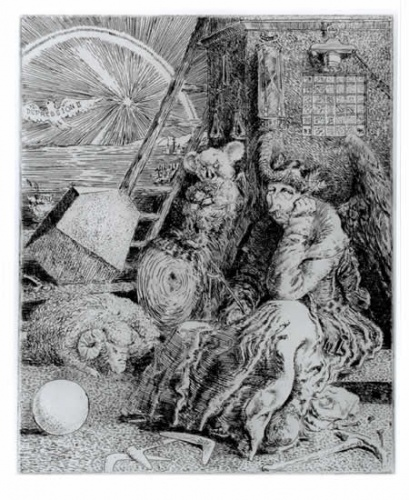 "<h4 style=""margin:0px 0px 5px 0px"">Keatings Melancholia</h4>Medium: Etching<br />Price: $440 
