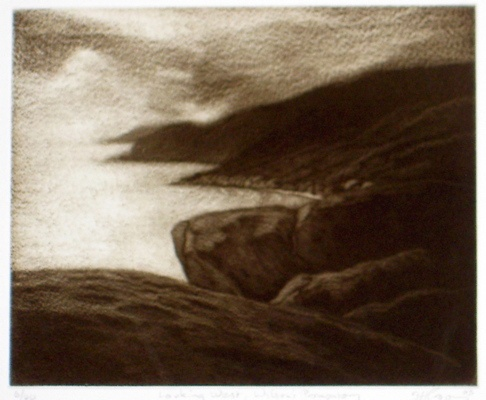 "<h4 style=""margin:0px 0px 5px 0px"">Looking West, Wilsons Promontory</h4>Medium: Etching<br />Price: $360 