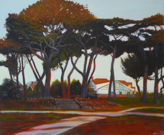 "Williamstown Park<br /><br />Medium: Acrylic on canvas<br />Price: $2,200<br /><a href=""Artwork-Spooner-WilliamstownPark-2564.htm"">View full artwork details</a>"