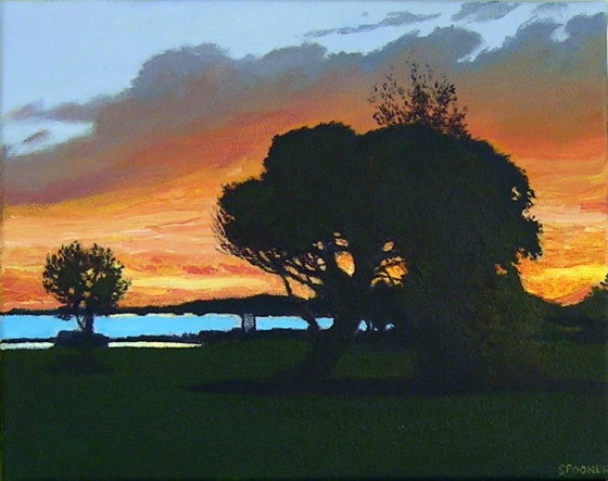 "<h4 style=""margin:0px 0px 5px 0px"">Williamstown Sunset</h4>Medium: Acrylic on canvas<br />Price: Sold 