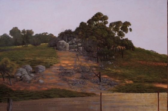 "<h4 style=""margin:0px 0px 5px 0px"">From Burke and Wills Track by John Spooner</h4>Medium: Acrylic on canvas<br />Price: Sold<span class=""helptip"" style=""color:#ff0000;"" title=""This artwork been sold""><img src=""/images/reddot1.gif"" border=""0"" height=""10"" /></span> 