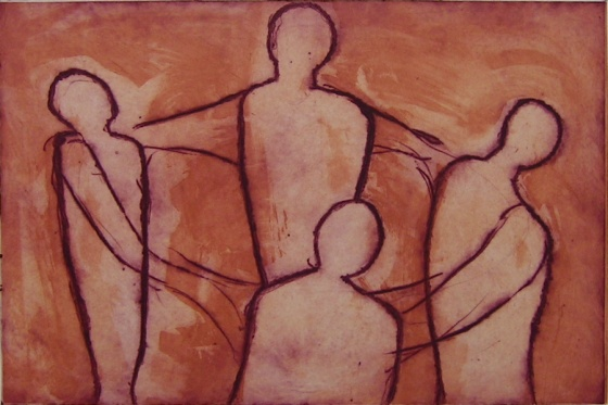 "<h4 style=""margin:0px 0px 5px 0px;"">Dancers</h4>Medium: Etching and drypoint<br />Price: $374 <span style=""color:#aaa"">