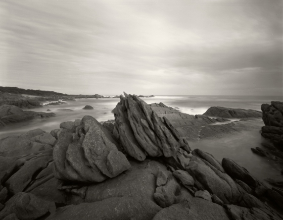 "Cape Conran 2<br /><br />Medium: Silver Gelatin Contact Print Pinhole Camera<br />Price: $800<br /><a href=""Artwork-Tatnall-CapeConran2-3083.htm"">View full artwork details</a>"
