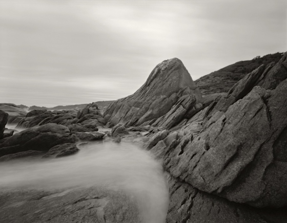 "Cape Conran 3<br /><br />Medium: Silver Gelatin Contact Print Pinhole Camera<br />Price: $800<br /><a href=""Artwork-Tatnall-CapeConran3-3084.htm"">View full artwork details</a>"