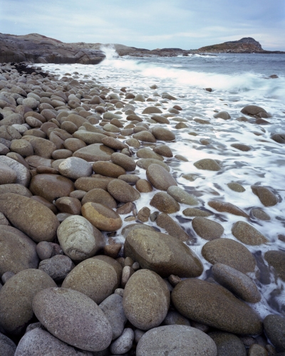 "Egg Beach Flinders Island<br /><br />Medium: Pigment Inkjet Print 310 gsm<br />Price: $2,000<br /><a href=""Artwork-Tatnall-EggBeachFlindersIsland-3101.htm"">View full artwork details</a>"