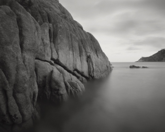 "Erith Island Hut Point<br /><br />Medium: Silver Gelatin Print {Pinhole Camera<br />Price: $900<br /><a href=""Artwork-Tatnall-ErithIslandHutPoint-3086.htm"">View full artwork details</a>"