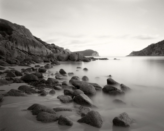 "Erith Island West Cove<br /><br />Medium: Silver Gelatin Contact Print Pinhole Camera<br />Price: $900<br /><a href=""Artwork-Tatnall-ErithIslandWestCove-3087.htm"">View full artwork details</a>"