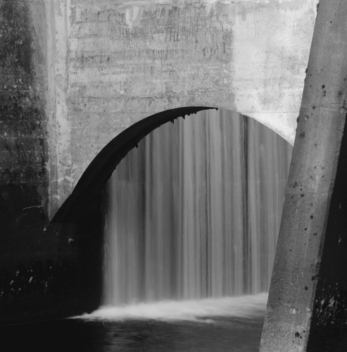 "Lower Rubicon Dam<br /><br />Medium: Silver Gelatin Print<br />Price: $900<br /><a href=""Artwork-Tatnall-LowerRubiconDam-3120.htm"">View full artwork details</a>"