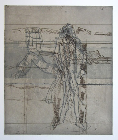 "<h4 style=""margin:0px 0px 5px 0px"">Bather and standing figure</h4>Medium: Etching<br />Price: $700 