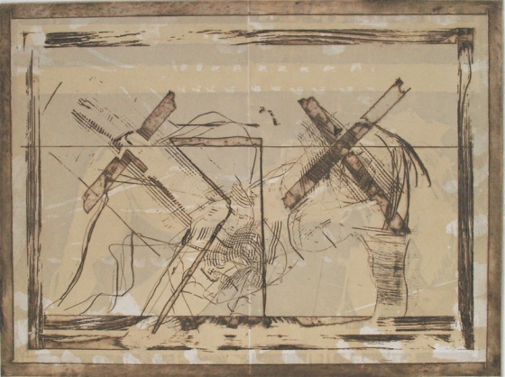 "<h4 style=""margin:0px 0px 5px 0px"">Cross ground by John Waller</h4>Medium: Etching<br />Price: $1,000 
