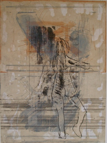 "<h4 style=""margin:0px 0px 5px 0px"">Figure 2 by John Waller</h4>Medium: Etching & drypoint<br />Price: $1,000 